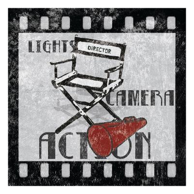 Lights Camera Action-Hugo Wild-Art Print