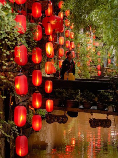 Lijiang, Yunnan Province, China-Pete Oxford-Photographic Print
