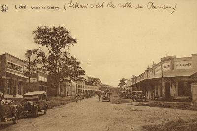 Likasi - Avenue De Kambove--Photographic Print