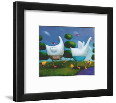 Like Ducks to Water-Rob Scotton-Framed Art Print