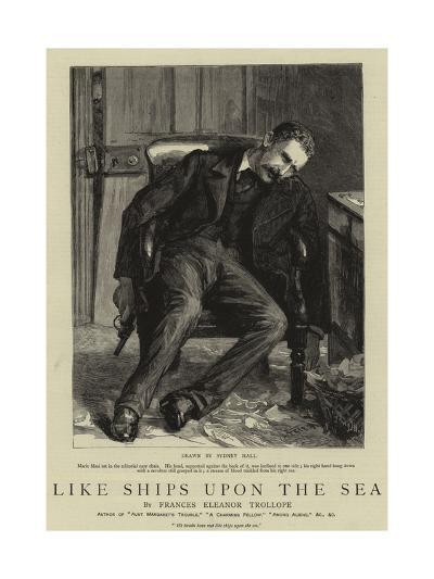 Like Ships Upon the Sea-Sydney Prior Hall-Giclee Print