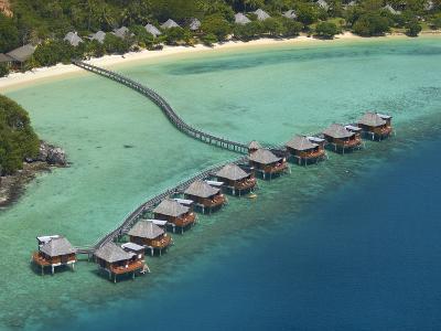 Likuliku Lagoon Resort, Malolo Island, Mamanuca Islands, Fiji-David Wall-Photographic Print