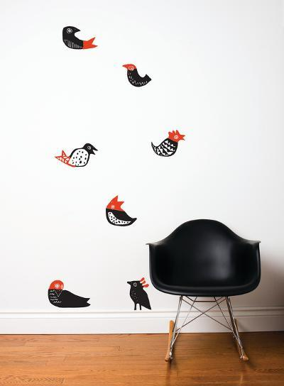 Lil'Birds Wall Decal--Wall Decal