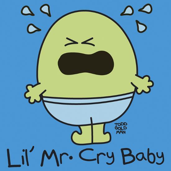 Lil Mr Cry Baby-Todd Goldman-Giclee Print