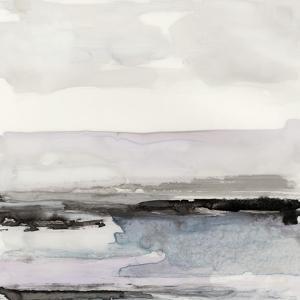 Organic Seascape Blue III by Lila Bramma