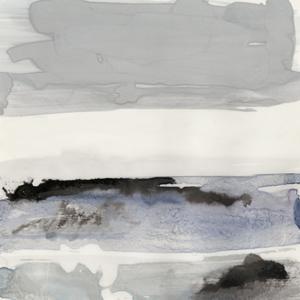 Organic Seascape Blue IV by Lila Bramma