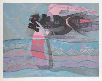 Lila from the Mar de Lurin Series-Fernando De Szyszlo-Limited Edition