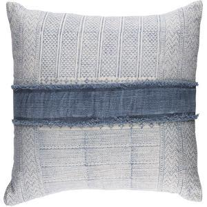 Lila Pillow Cover - Denim