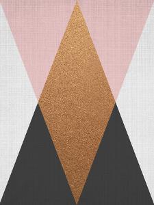 Geometric Pink Bronze by LILA X LOLA