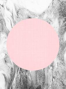 Geometric Pink Grey by LILA X LOLA
