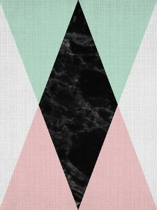Geometric Pink Mint by LILA X LOLA