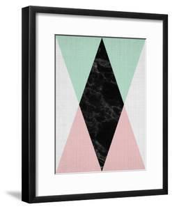 Geometric Pink Mint by LILA X LOLA