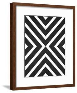 Geometric White Black by LILA X LOLA