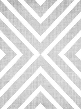 Geometric White Grey
