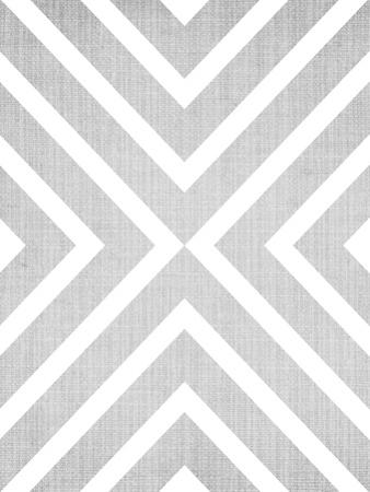 Geometric White Grey by LILA X LOLA