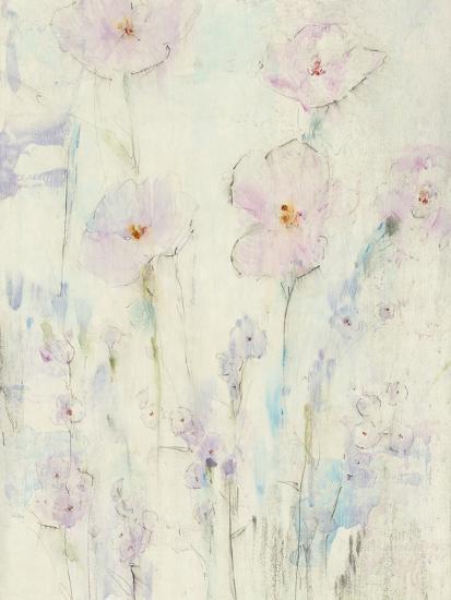 Lilac Floral I-Tim OToole-Art Print