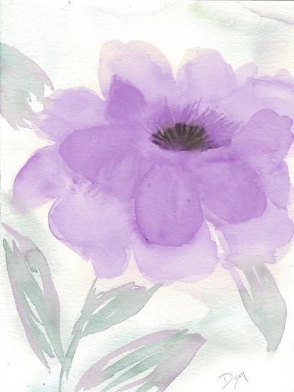 Lilac Peony II-Beverly Dyer-Art Print