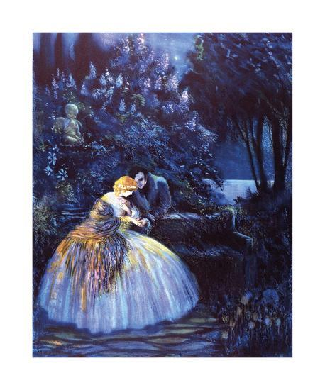 Lilac Time-Marygold-Premium Giclee Print
