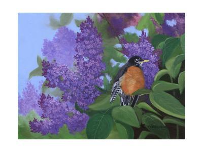 Lilacs Robin-Julie Peterson-Art Print