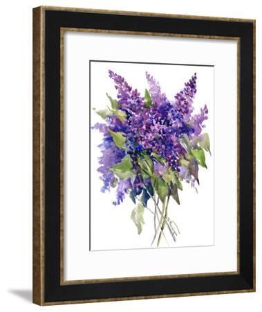 Lilacs-Suren Nersisyan-Framed Art Print
