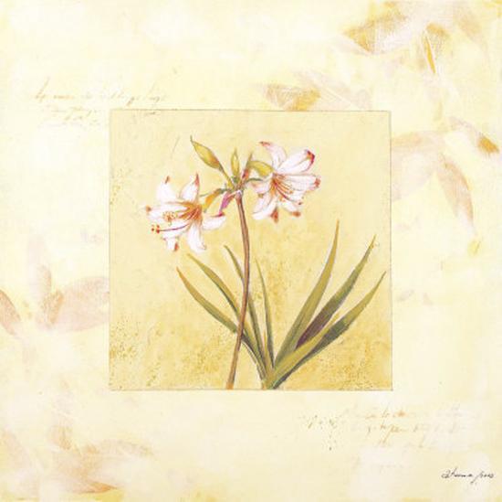 Lilas Composicion I-Atenea-Art Print