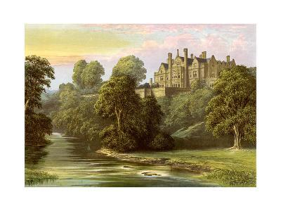 Lilburn Tower, Northumberland, Home of the Collingwood Family, C1880-AF Lydon-Giclee Print