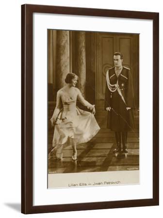 Lilian Ellis, Jwan Petrovich--Framed Photographic Print