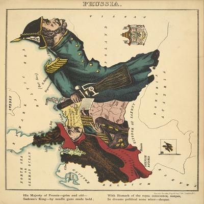 Prussia, Geographical Fun: Being Humourous Outlines of Various Countries, 1869