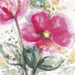 Pink Flower I by Lilian Scott