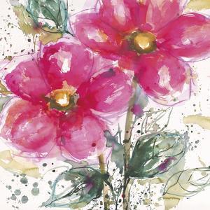 Pink Flower II by Lilian Scott