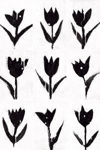 Tulip Noir Composite by Lilian Scott