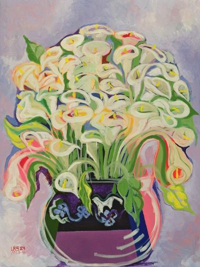 Lilies, 1989-Laila Shawa-Giclee Print
