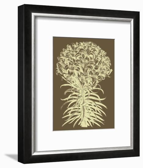 Lilies 3-Botanical Series-Framed Art Print