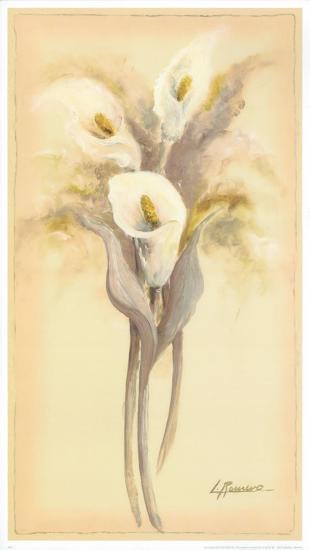 Lilies Bouquet I-Luis Romero-Art Print