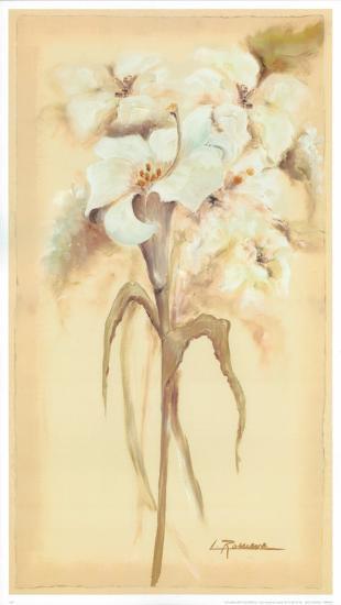 Lilies Bouquet II-Luis Romero-Art Print