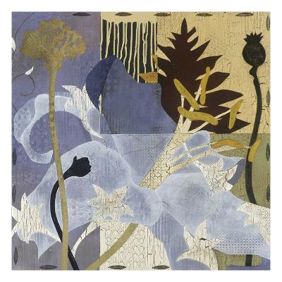 Lilies & Lavender I-Mary Calkins-Premium Giclee Print