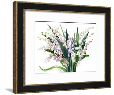 Lilies Of The Valley-Suren Nersisyan-Framed Art Print