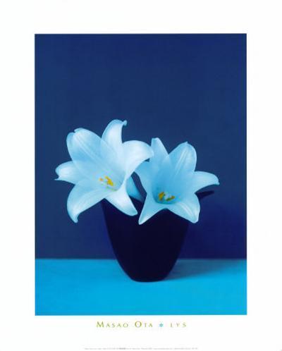 Lilies-Masao Ota-Art Print