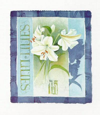 Lilies-Franz Heigl-Art Print