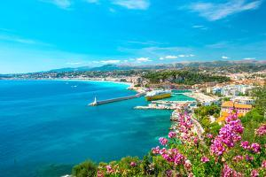 Nice City, French Riviera, Mediterranean Sea by LiliGraphie