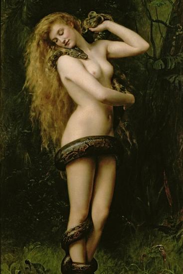 Lilith, 1887-John Collier-Giclee Print