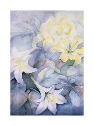 Lilium, Hearts Desire and Imperiale-Karen Armitage-Giclee Print