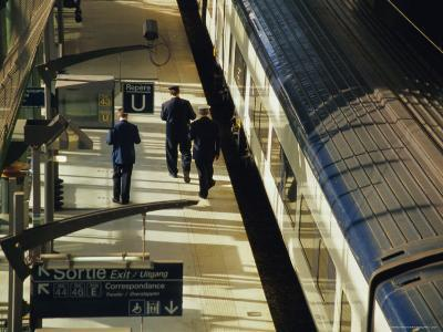 Lille Europe Station, Euralille, Lille, Nord, France, Europe-David Hughes-Photographic Print