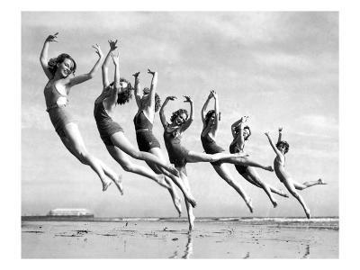 Lillian Newman's Dancers--Giclee Print