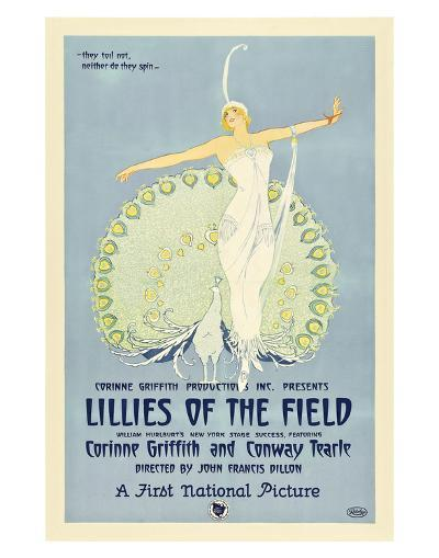 Lillies Of The Field - 1924--Giclee Print