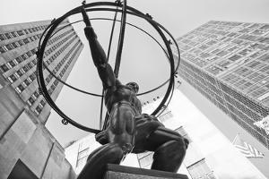 Atlas Statue Rockefeller Center by Lillis Werder