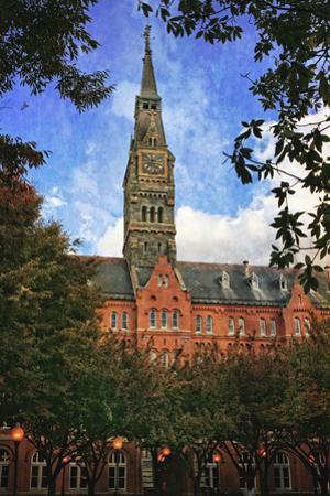 Clock Tower Georgetown University 2 by Lillis Werder