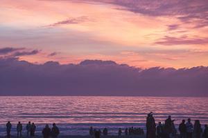 Coronado Sunset Silhouettes by Lillis Werder