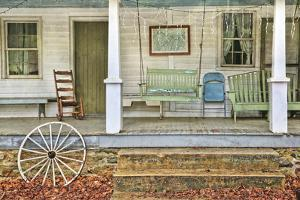 Farm House Front Porch by Lillis Werder
