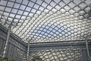 Kogod Courtyard National Portrait Gallery 1 by Lillis Werder